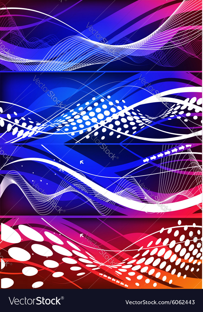 Abstract wave element vector