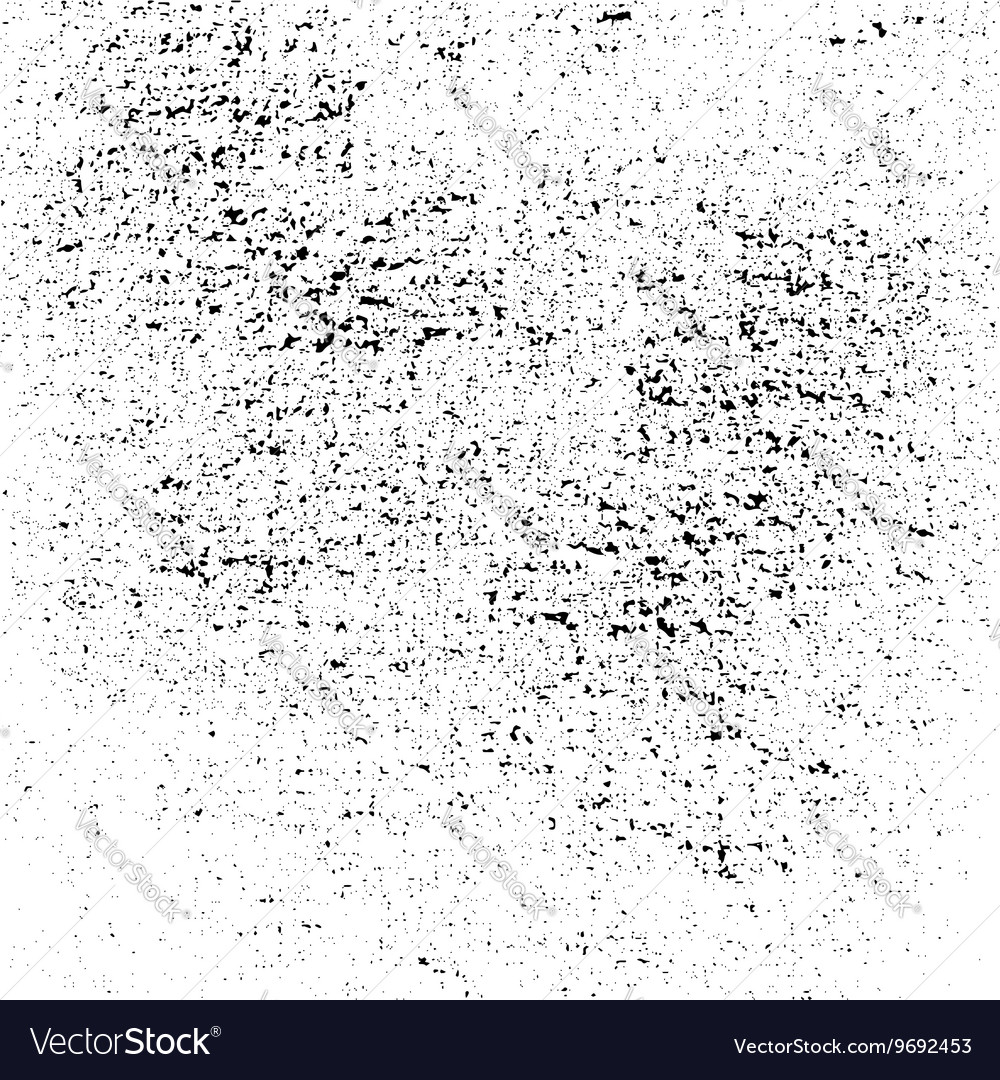 Dust texture white and black grunge sketch vector