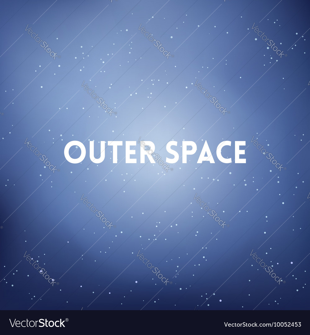 Square blurred background  space sky colors with vector