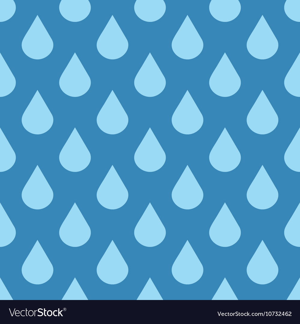 Elegant water drops seamless background vector