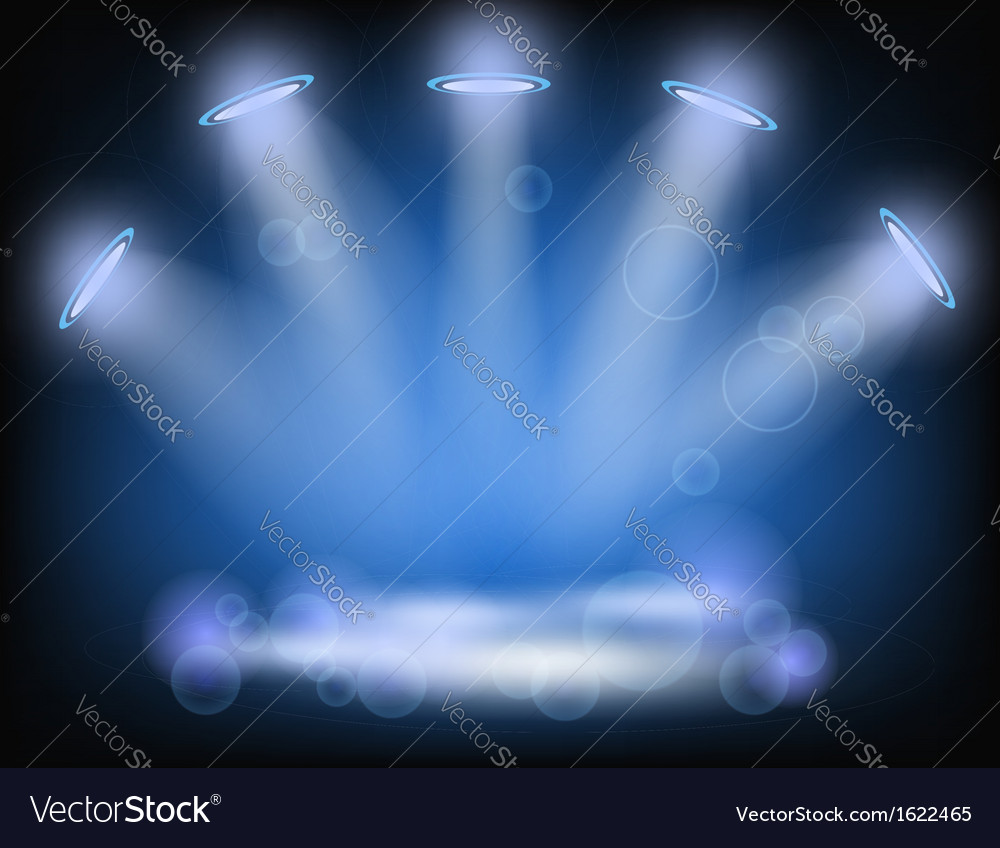 Lighting background vector