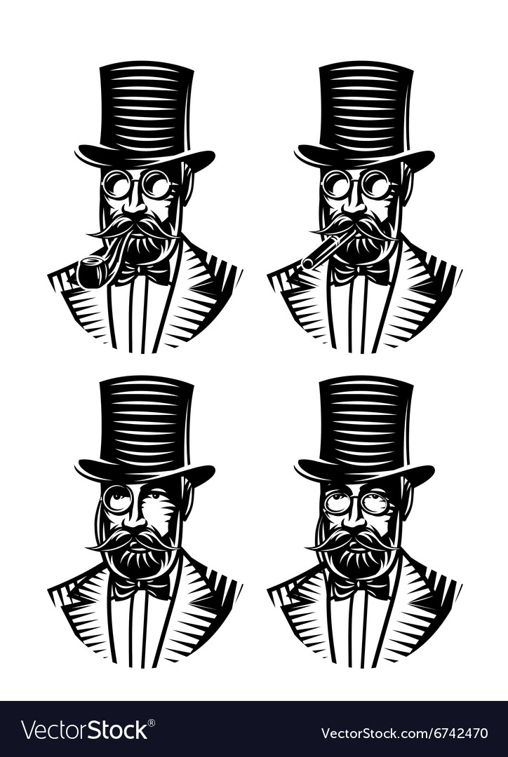 Set monochromatic gentlemen with different vector