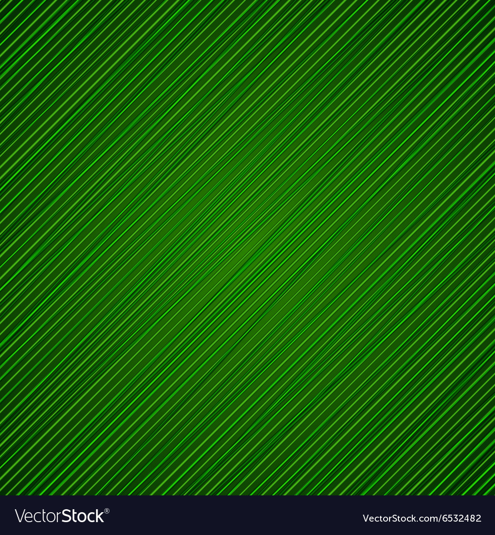 Green banded background vector