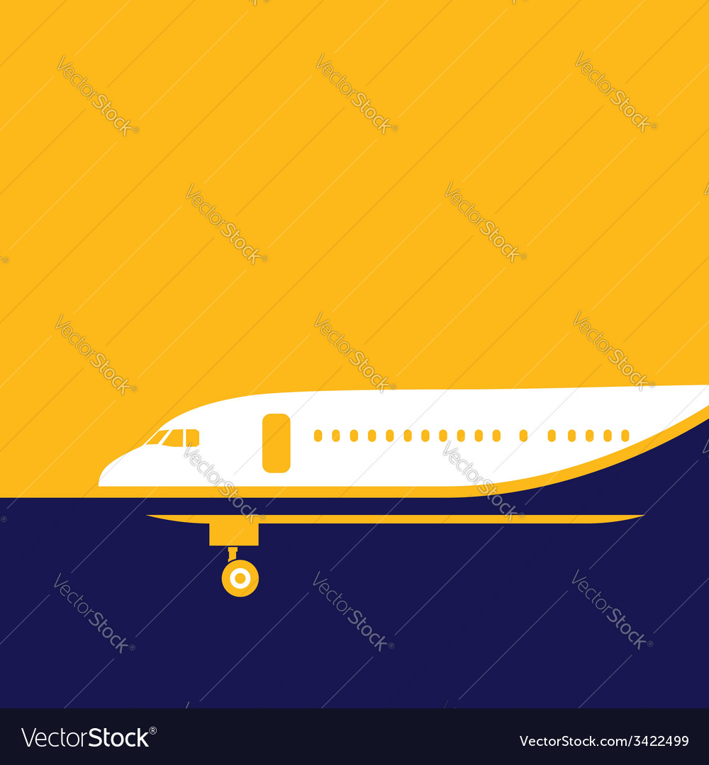 Airliner vector