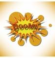 Bang Comic book explosion vector image