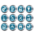 Industrial buttons vector image