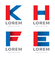 set of icon type vector image