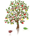 ornamental tree vector image