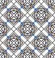 Square tile pattern vector image
