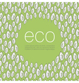 ecology poster background vector image vector image