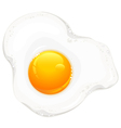 egge white background vector image vector image