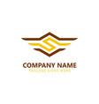 s construction technology logo vector image