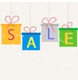 Sale gifts vector image
