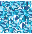 Blue Mosaic Triangles Pattern vector image vector image