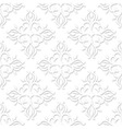 3d Seamless Pattern Background For cards vector image