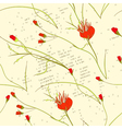 retro stylized wallpaper vector image