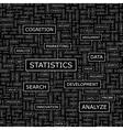 STATISTICS vector image