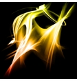 Abstract fractal background vector image vector image
