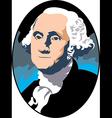 George Washington vector image