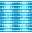 Seamless Oktoberfest and Bavarian flag pattern vector image