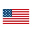 usa symbol flag isolated design vector image