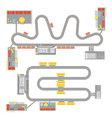 Motor Circuit Set vector image