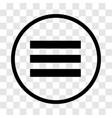 menu icon - iconic design vector image