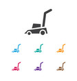 of instrument symbol on lawn vector image