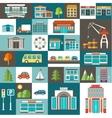 City set vector image