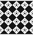 Football Ball Black White Chess Board Diamond vector image
