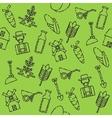 Farm set pattern vector image