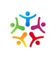 People union logo vector image