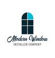 logo windows store installer company vector image