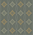 seamless geometric pattern retro vector image