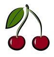 icon of cherry vector image