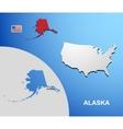 Alaska vector image