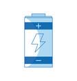 battery power energy charging design vector image