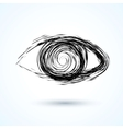 Abstract eye Sketch vector image