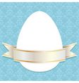 Easter ribbon vector image
