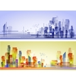 Abstract City Landscape vector image