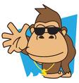 Gorilla Funky vector image