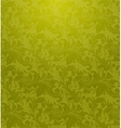 Green Seamless wallpaper pattern vector image vector image