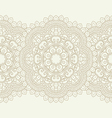Seamless pattern with floral elements vector image