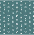 seamless gadgets background texture vector image vector image