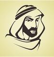 arabic man vector image