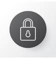 close padlock icon symbol premium quality vector image