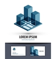 construction logo icon sign emblem template vector image