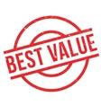 Best Value rubber stamp vector image