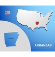 Arkansas vector image vector image