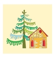 drawing a house vector image
